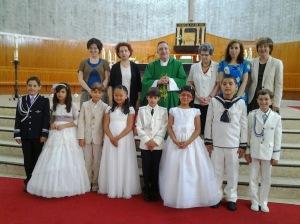 Parroquia de San José, Primeras Comuniones 40(85)
