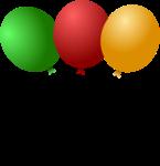 vectores globos fiesta 3
