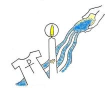 baptism logo color