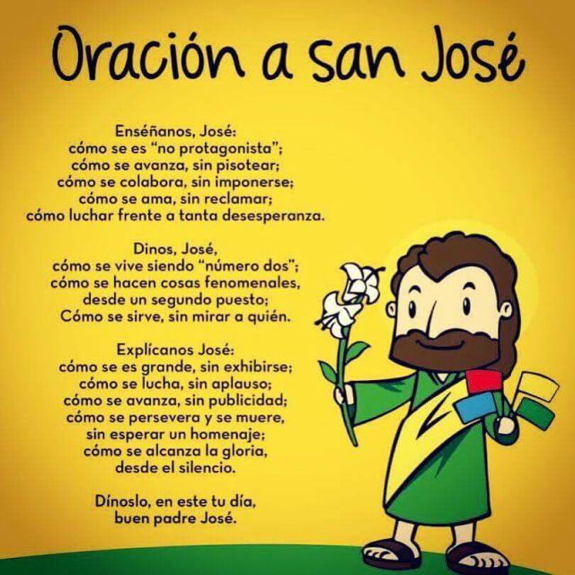 oración a S José